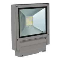 Domus LightingLED Flood Light Exterior Adjustable Silver 20W in 5000K 23cm Flash