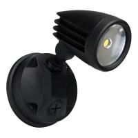 Domus LightingLED Spot Light Single Outdoor Black 15W in 5000K 19cm IP44 Muro Domus