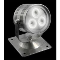 Domus LightingLED Underwater Light Three Stainless Steel in 3W 6400K 9cm IP68 Fluid