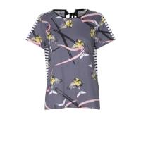 Dorothee SchumacherHAPPY IMPULSE shirt o-neck 1/4 print mix