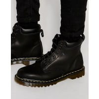 Dr. Martens939 6-Eye Boots - Black