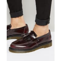 Dr. MartensAdrian Tassel Loafers - Red