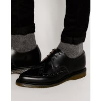 Dr. MartensAlly Lace Up Creeper Derby Shoes - Black