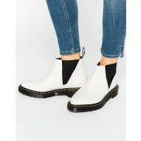 Dr. MartensBianca White Chelsea Boots - White