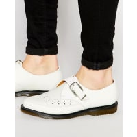 Dr. MartensRousden Monk Strap Creeper Shoes - White