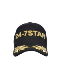 Dsquared2CAPPELLO BASEBALL IN TELA RICAMATA