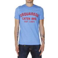 Dsquared2T-shirt DEAN&DAN Girocollo in Cotone Autunno-Inverno
