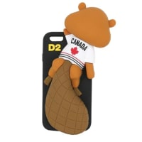 Dsquared2COVER IPHONE 6 IN SILICONE 3D
