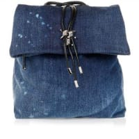 Dsquared2Denim Back-Pack with Leather Details Herbst/Winter