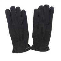 Dsquared2Lamb Leather and cashmere Gloves Herbst/Winter