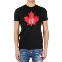 Dsquared2Printed Classic Fit T-shirt Frühling/Sommer