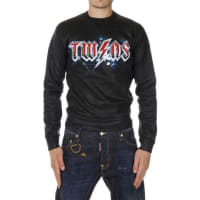 Dsquared2Printed Cotton Sweater Herbst/Winter
