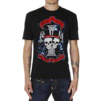 Dsquared2T-shirt in Cotone Stampata Autunno-Inverno