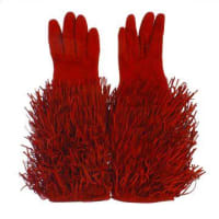 Dsquared2Suede Gloves with Fringes Herbst/Winter
