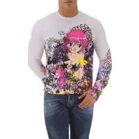 Dsquared2Sweatshirt for Men On Sale, White, Cotton, 2016, L XL