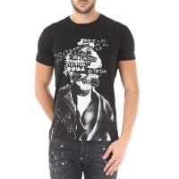 Dsquared2T-Shirt for Men On Sale, Black, Cotton, 2016, S XL XXL