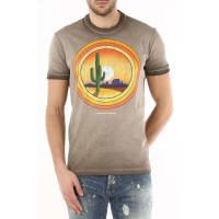 Dsquared2T-Shirt for Men, Brown Earth, Cotton, 2016, L M S XL XXL