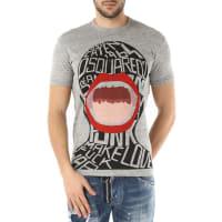 Dsquared2T-Shirt for Men, Grey, Cotton, 2016, L M XL XXL