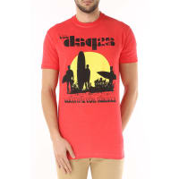 Dsquared2T-Shirt for Men, Red, Cotton, 2016, L S XL XS