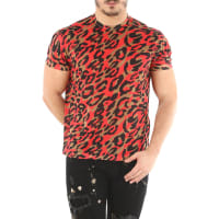 Dsquared2T-Shirt for Men, Red, polyestere, 2016, L M S XL