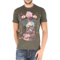 Dsquared2T-Shirt for Men On Sale, Green, Cotton, 2016, L XL XXL