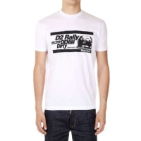 Dsquared2Jersey Printed T-shirt Herbst/Winter