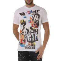Dsquared2T-Shirt for Men On Sale, White, Cotton, 2016, L XL