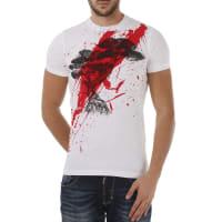 Dsquared2T-Shirt for Men On Sale, White, Cotton, 2016, S XL