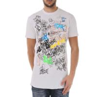 Dsquared2T-Shirt for Men On Sale, White, Cotton, 2016, M S