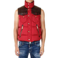 Dsquared2Vest with Leather Tassels Herbst/Winter