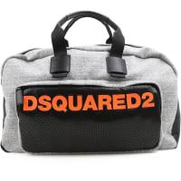 Dsquared2Reisetasche für Herren Günstig im Outlet Sale, Melange Grau, Gewebe, 2016