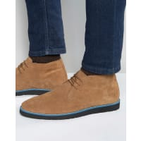 Dune LondonChukka Boots In Tan Suede - Tan
