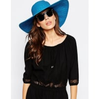 EchoFloppy Sun Hat - Blue