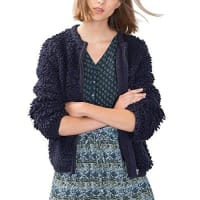 EDC by Espritedc by ESPRIT 086CC1I021, Gilet Femme, Bleu (NAVY), 38 (Taille fabricant: Medium)