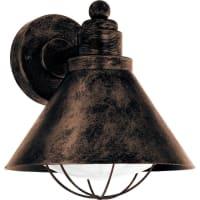 EgloVintage Barrosela - Buitenverlichting - Wandlamp - 1 Lichts - Koperkleurig
