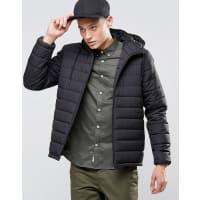 ElementHayden Hooded Quilt Jacket Black - Black