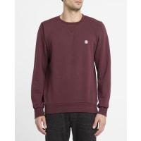 ElementSweatshirt Protected mit Rundhalsausschnitt in Rot
