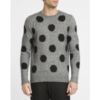 Eleven ParisGrau melierter Pullover Enoa Dots