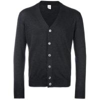 Eleventyclassic cardigan, Mens, Size: XXXL, Grey, Silk/Merino