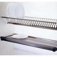 EliteStainless Steel Cupboard Dish Rack, 600-900mm Standard Cabinet Width