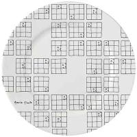 Elli PoppLimited Edition Gavin Turk Side PlateSet of 4