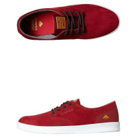 EmericaRomero Laced Suede Shoe Red