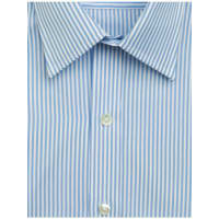 Emma WillisSky Bengal Stripe Swiss Cotton Shirt
