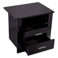 Emma's DesignBondi Premium Bedside Table, Black