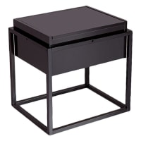 Emma's DesignRaymond Bedside Table, Black