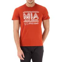 Emporio ArmaniT-Shirt for Men On Sale, Dark Orange, Cotton, 2016, L S XL XS XXL XXXL