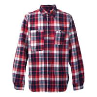Engineered Garmentsplaid Work shirt, Mens, Size: Large, Red, Cotton
