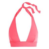 EresTatooh Galuchat Halterneck Bikini Top - Bright pink