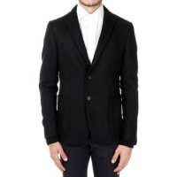 Ermenegildo ZegnaSingle-Breasted wool Blazer with Knitted cuffs and Collar Herbst/Winter
