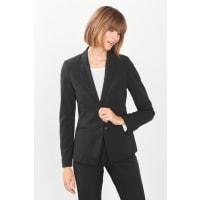 Esprit2-Knopf-Anzugblazer mit edlen Knöpfen für Damen Black